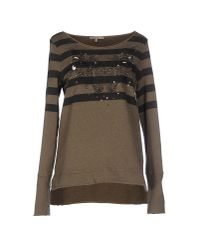 Patrizia Pepe | Green Sweatshirt | Lyst