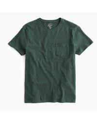 J.Crew - Green Slim Flagstone Pocket T-shirt for Men - Lyst
