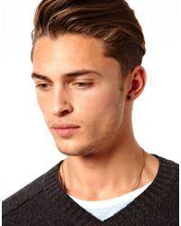 ASOS - Black Earring Pack with Skull and Star for Men - Lyst