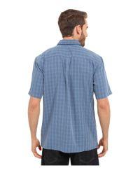 Quiksilver - Blue Banyon Woven Top for Men - Lyst