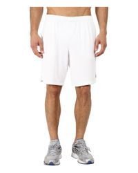 "New Balance - White 9"" Knit Versa Short for Men - Lyst"