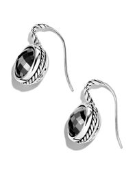 David Yurman - Metallic Color Classics Drop Earrings with Hematite - Lyst