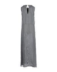 Marco Bologna - Black Long Dress - Lyst
