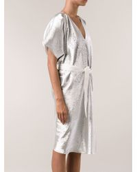 Maison Rabih Kayrouz - Metallic Dress - Lyst