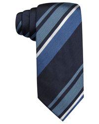 Vince Camuto - Blue Universita Stripe Slim Tie for Men - Lyst