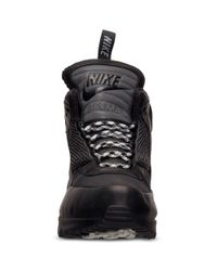 Nike - Black Mens Air Max 90 Sneakerboots From Finish Line for Men - Lyst