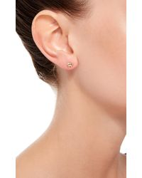 Loquet London | Metallic 14k Gold Elephant Stud Earring | Lyst