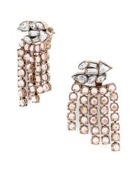 BaubleBar | Metallic 'florence' Drop Earrings - Champagne/ Antique Gold | Lyst