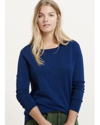 Violeta by Mango | Blue Essential Sweater | Lyst