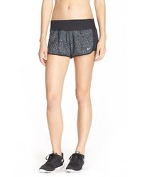 Nike | Gray 'crew' Print Dri-fit Shorts | Lyst