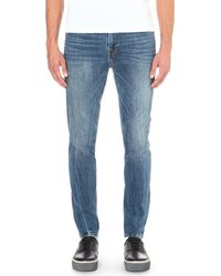 True Religion | Blue Mick Slouchy-fit Skinny Jeans - For Men for Men | Lyst