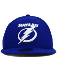 KTZ | Blue Tampa Bay Lightning C-Dub 59Fifty Cap for Men | Lyst
