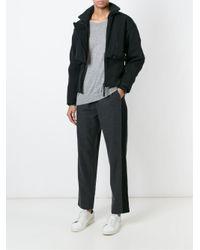 Adidas By Stella McCartney - Black 'motocross' Jacket - Lyst