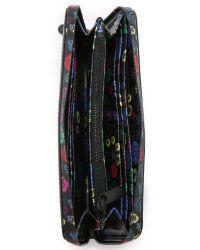 Marc By Marc Jacobs - Purple Ditsy Flower Slim Zip Around Wallet - Lyst