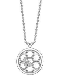 Theo Fennell - Metallic Alias Openwork Humblebee Necklace - Lyst