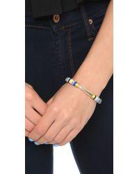 Gas Bijoux - Massai Classique Bracelet - Blue Multi - Lyst