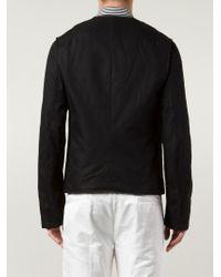 Ann Demeulemeester - Black Zipped Jacket for Men - Lyst