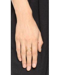 Phyllis + Rosie | Metallic Sunny Ring - Gold | Lyst