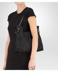 a08c104334d5 Bottega Veneta. Women s Black Beverly  71  16 In Nero Intrecciato Cervo.  See more Bottega Veneta Shoulder bags.