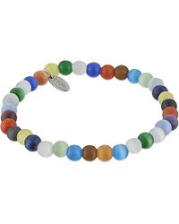 Eton of Sweden | Multicolor Sodalite Beaded Bracelet, Men's, Multi for Men | Lyst