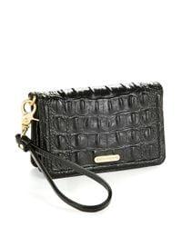 Brahmin | Black Debi Wrist Wallet | Lyst