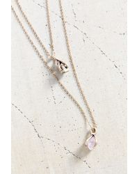 Urban Outfitters | Metallic Ancient Melodies Double-Layer Necklace | Lyst