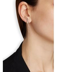 Maria Black | Pink Alladin Rose Gold-plated Earrings | Lyst
