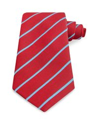 Thomas Pink - Blue Dursley Stripe Classic Tie for Men - Lyst