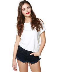 Nasty Gal | Blue One Teaspoon Bonitas Cutoff Shorts Pontiac | Lyst