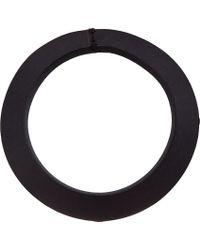 Rick Owens - Black Leather Bracelet for Men - Lyst