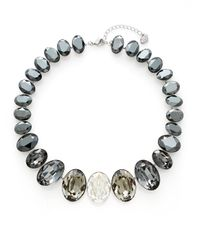 Swarovski | Metallic Voy Crystal Collar Necklace | Lyst