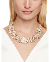 kate spade new york | Metallic Pick A Pearl Statement Necklace | Lyst
