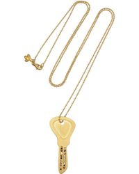 Carolina Bucci | Metallic 18-Karat Gold, Diamond And Sapphire Necklace | Lyst