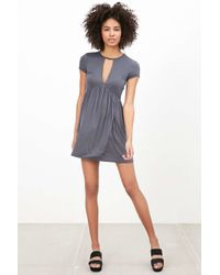 Kimchi Blue - Blue Valentina Empire Lace Mini Dress - Lyst