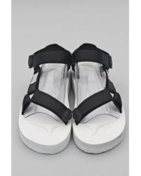46a62392d0d Lyst - Suicoke White Depav Sandal in White for Men