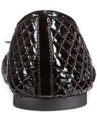 Michael Kors - Black Michael Melody Quilted Ballet Flats - Lyst