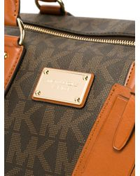 MICHAEL Michael Kors - Brown Monogram Weekender Bag - Lyst