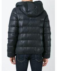 Duvetica - Black Hooded Padded Jacket for Men - Lyst