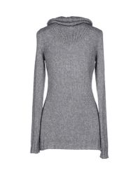 Fred Perry - Gray Turtleneck - Lyst