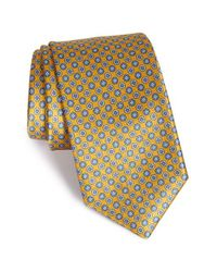 Robert Talbott | Metallic Medallion Silk Tie for Men | Lyst