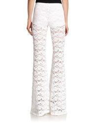 Nightcap - White Dixie Lace Pants - Lyst