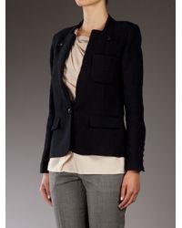 Vanessa Bruno | Black Linen Blazer | Lyst