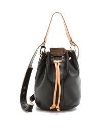 Ramy Brook - Collette Drawstring Bucket Bag - Black - Lyst
