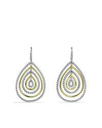 David Yurman | Metallic Mobile Drop Earrings with Gold | Lyst