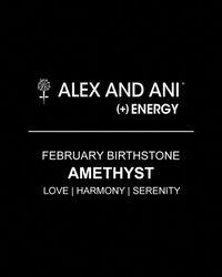 ALEX AND ANI - Yellow February Birthstone Bangle - Lyst