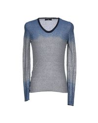 Daniele Alessandrini - Blue Jumper for Men - Lyst
