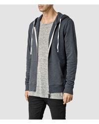 AllSaints | Gray Norths Hoody for Men | Lyst
