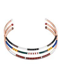 Tory Burch - Multicolor Multi-Color Skinny Collar Necklace - Lyst
