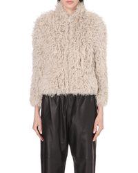 IRO Natural Kald Shearling Jacket