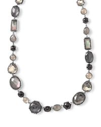 Ippolita | Rock Candy® Black Tie Strand Necklace | Lyst